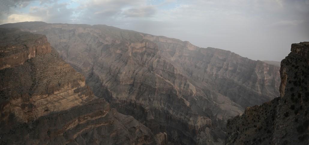 Au grand canyon ! (Oman)