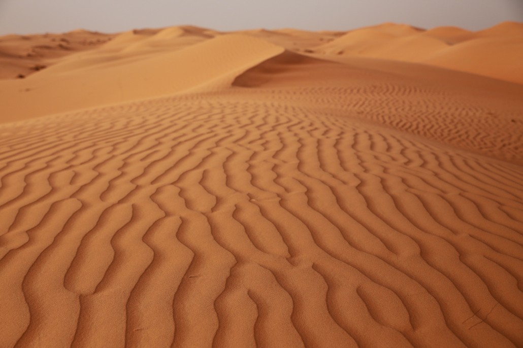 Dans le désert rouge