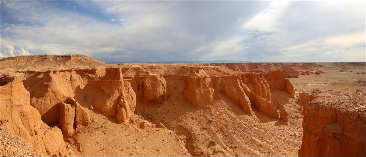 Mongolie Flamming Cliffs-