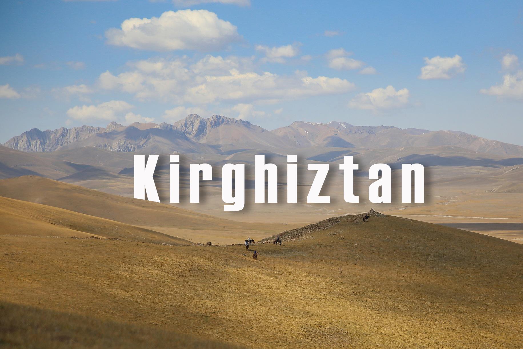 Couverture Kirghizstan